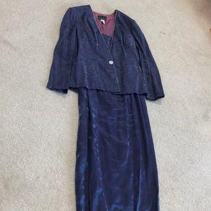 Alex Evenings Dress 2 Pc Set